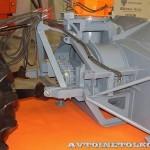 фрезерно-роторный снегоочиститель Шторм-2600 с трактором Terrion Навигатор-НМ на выставке Дорога-2013 - 6