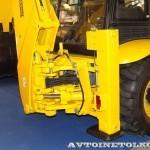 экскаватор-погрузчик Forway FW799 на выставке Дорога-2013 - 5