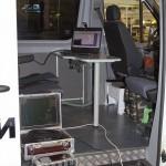 дорожная лаборатория НПО Регион на базе Volkswagen Crafter на выставке Дорога-2013 - 3