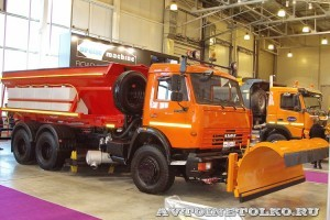 Kobit KBR-S8K на КамАЗ-65115 на выставке Дорога-2013 - 7