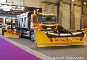 AM Combi на Volvo FMX Arctic Machine на выставке Дорога-2013 - 2