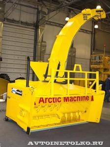роторный навесной снегоочиститель AM-2500 Arctic Machine на выставке Дорога-2013 - 1