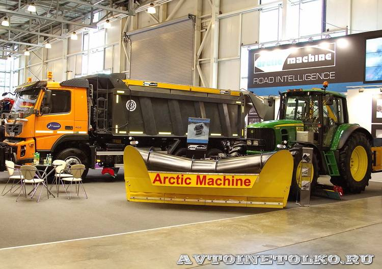 Arctic Mashine Oy на выставке Дорога-2013