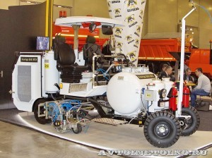 Разметочная машина Kontur 650ХПЭ СТиМ на выставке Дорога-2013 - 2