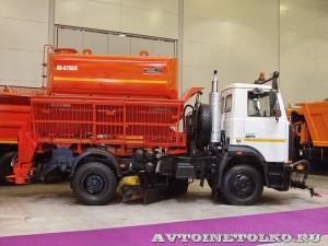 КО-829АМ на шасси МАЗ-4380 Коммаш Арзамас на выставке Дорога-2013 - 1