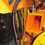 ДЭ-210 БФ-2 на тракторе К-708 на выставке Дорога-2013 - 2