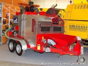 дорожный ремонтер ЭД-205П Коминвест-АКМТ на выставке Дорога-2013 - 1