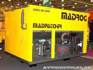 Дорожный ремонтер Madrog Madpatcher на выставке Дорога-2013 - 6