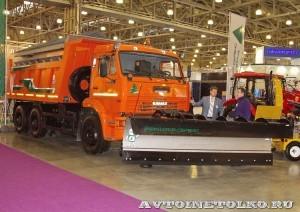 SaltDogg ЭД-405В1 на КамАЗ-65115 на выставке Дорога-2013