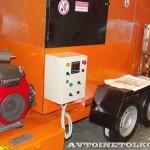 Мобильный рециклер асфальта Бастион-СПб на выставке Дорога-2013 - 2