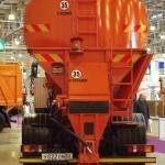 КО-829АМ на шасси МАЗ-4380 Коммаш Арзамас на выставке Дорога-2013 - 6