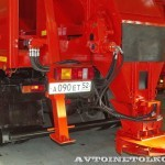 КО-829С1-01 на самосвале КамАЗ-65115 Коммаш Арзамас на выставке Дорога-2013 - 3