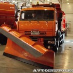 КО-829С1-01 на самосвале КамАЗ-65115 Коммаш Арзамас на выставке Дорога-2013 - 6