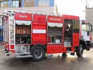 Пожарная автоцистерна АЦ 5,0-50-7 модель 003Б-ЧС на шасси  IVECO Trakker AD190T33 ООО Чибис - 2