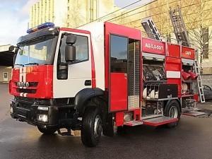 Пожарная автоцистерна АЦ 5,0-50-7 модель 003Б-ЧС на шасси  IVECO Trakker AD190T33 ООО Чибис - 3