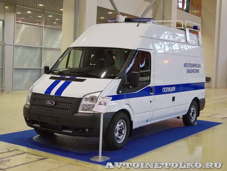 Автотехническая лаборатория Крим-Маркет на выставке Интерполитех 2013 - 1