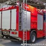 Пожарная автоцистерна АЦ 5,0-50-7 модель 003Б-ЧС на шасси  IVECO Trakker AD190T33 ООО Чибис  на выставке Комплексная Безопасность 2013 - 3