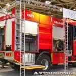 Пожарная автоцистерна АЦ 5,0-50-7 модель 003Б-ЧС на шасси  IVECO Trakker AD190T33 ООО Чибис  на выставке Комплексная Безопасность 2013 - 4