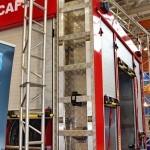 Пожарная автоцистерна АЦ 5,0-50-7 модель 003Б-ЧС на шасси  IVECO Trakker AD190T33 ООО Чибис  на выставке Комплексная Безопасность 2013 - 13