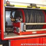 Пожарная автоцистерна АЦ 5,0-50-7 модель 003Б-ЧС на шасси  IVECO Trakker AD190T33 ООО Чибис  на выставке Комплексная Безопасность 2013 - 5