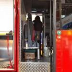 Пожарная автоцистерна АЦ 5,0-50-7 модель 003Б-ЧС на шасси  IVECO Trakker AD190T33 ООО Чибис  на выставке Комплексная Безопасность 2013 - 7