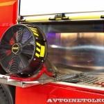 Пожарная автоцистерна АЦ 5,0-50-7 модель 003Б-ЧС на шасси  IVECO Trakker AD190T33 ООО Чибис  на выставке Комплексная Безопасность 2013 - 8