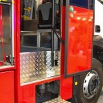 Пожарная автоцистерна АЦ 5,0-50-7 модель 003Б-ЧС на шасси  IVECO Trakker AD190T33 ООО Чибис  на выставке Комплексная Безопасность 2013 - 10