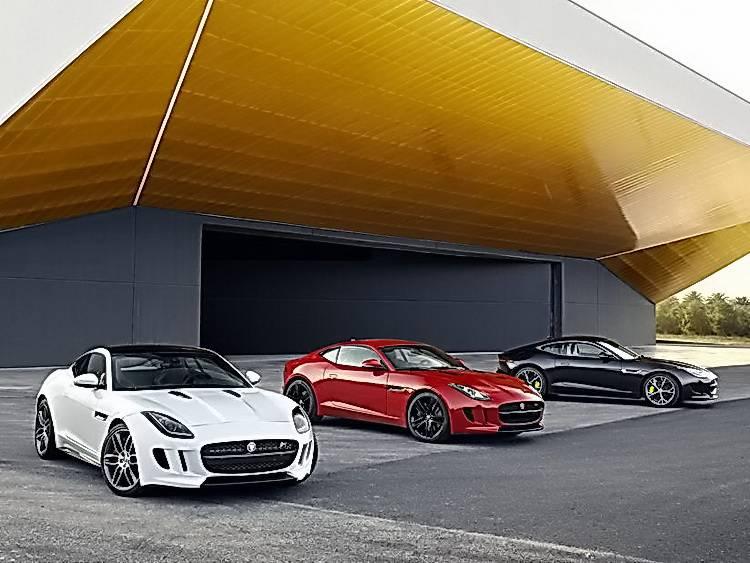 старт продаж нового Jaguar F-Type Coupe