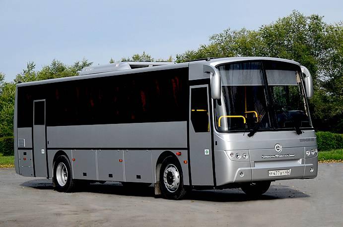 Автобус КАвЗ 4238 с газовым двигателем