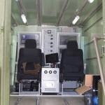 командно-вычислительный пункт мобильной специализированной радиолокационной станции Демонстратор на Авиасалоне МАКС-2013 - 1