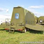 передающий пост мобильной специализированной радиолокационной станции Демонстратор на Авиасалоне МАКС-2013 - 1