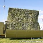 приемный пост мобильной специализированной радиолокационной станции Демонстратор на Авиасалоне МАКС-2013 - 1
