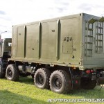 мобильный тренажер 9Ф678М на шасси КамАЗ-6350 из состава ЗРК Тор-М2Э(МК) на Авиасалоне МАКС-2013 -1