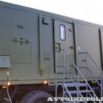 мобильный тренажер 9Ф678М на шасси КамАЗ-6350 из состава ЗРК Тор-М2Э(МК) на Авиасалоне МАКС-2013 -2