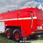 новый аэродромный пожарный автомобиль Oshkosh Striker 3000 для Внуковского аэропорта на авиасалоне МАКС-2013 - 39