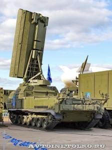радиолокационная станция 1Л259 комплекса разведки позиций ракет и артиллерии Зоопарк-1М на Авиасалоне МАКС-2013 - 1