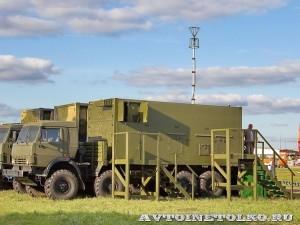 Автоматизированная система управления командного пункта зенитной ракетной бригады  73Н6МЭ Байкал-1МЭ на Авиасалоне МАКС-2013 - 1