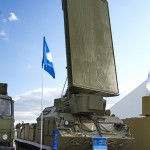 радиолокационная станция 1Л259 комплекса разведки позиций ракет и артиллерии Зоопарк-1М на Авиасалоне МАКС-2013 - 2