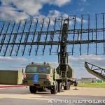 радиолокационный модуль метрового диапазона волн РЛМ-МЕ комплекса 55Ж6МЕ Небо-МЕ на Авиасалоне МАКС-2013 -2