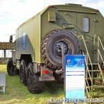 мобильный тренажер самоходной огневой установки 9А317ЭТ из состава ЗРК Бук-М2Э на Авиасалоне МАКС-2013 - 1