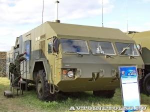 командный пункт 9С510Э из состава ЗРК Бук-М2Э на Авиасалоне МАКС-2013 -2