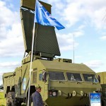 радиолокационная станция обнаружения целей 9С18М1-3Э из состава ЗРК Бук-М2Э на Авиасалоне МАКС-2013 - 2