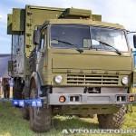 Автоматизированная система управления командного пункта зенитной ракетной бригады  73Н6МЭ Байкал-1МЭ на Авиасалоне МАКС-2013 - 3