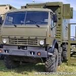 Автоматизированная система управления командного пункта зенитной ракетной бригады  73Н6МЭ Байкал-1МЭ на Авиасалоне МАКС-2013 - 4