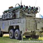 пуско-заряжающая установка 9А316Э из состава ЗРК Бук-М2Э на Авиасалоне МАКС-2013 - 3