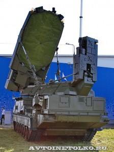 многоканальная станция наведения ракет 9С32МЭ комплекса С-300ВМ Антей-250 на Авиасалоне МАКС-2013 - 1