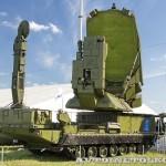 многоканальная станция наведения ракет 9С32МЭ комплекса С-300ВМ Антей-250 на Авиасалоне МАКС-2013 - 2