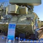радиолокационная станция 1Л259 комплекса разведки позиций ракет и артиллерии Зоопарк-1М на Авиасалоне МАКС-2013 - 3