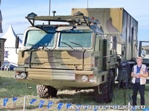 Пункт боевого управления 50К6Е из состава ЗРК С-350Е Витязь на Авиасалоне МАКС-2013 - 4