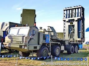 самоходная пусковая установка 50П6Е из состава ЗРК С-350Е Витязь на Авиасалоне МАКС-2013 -3